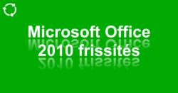 Bejegyzés, Facebook, Twitter: Microsoft Office 2010 frissítés, #1