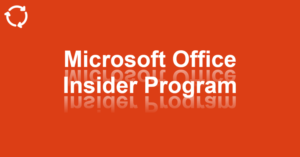 Bejegyzés, Facebook, Twitter: Microsoft Office Insider Program, #1